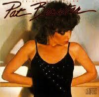 jaquette recto deuxième album de Pat Benatar Crimes of Passion Chrysalys Records